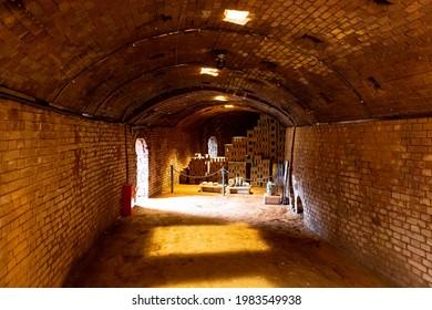 Nogi Town Brick Kiln in Tochigi Prefecture - Shutterstock ID 1983549938