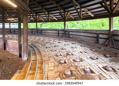 Nogi Town Brick Kiln in Tochigi Prefecture - Shutterstock ID 1983549947