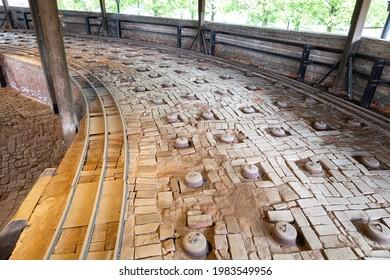 Nogi Town Brick Kiln in Tochigi Prefecture - Shutterstock ID 1983549956