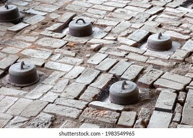 Nogi Town Brick Kiln in Tochigi Prefecture - Shutterstock ID 1983549965
