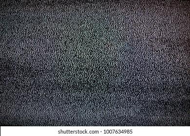 noise on tv