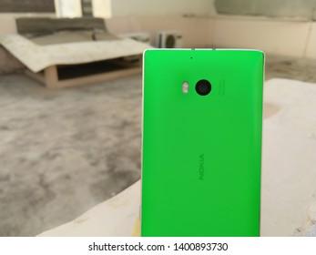 Nokia Lumia 930, old Nokia Lumia limited smartphone. . One of Nokia's most popular phones. Window phone. Most powerful camera phone by Nokia. New Delhi, Delhi/India - may 30, 2019.