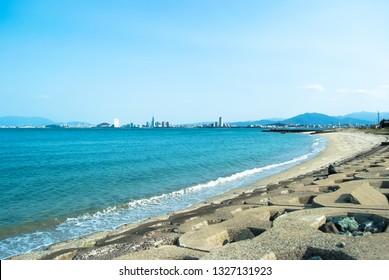 noko-island beach fukuoka japan
