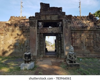 NOKOR BACHEY TEMPLE - KAMPONG CHAM,Cambodia