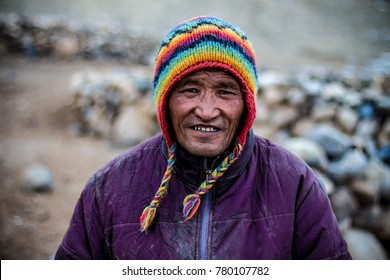 Nomad's Smile - The life of a Nomad can only be understood when you experience the hardship by yourself. Things they had to go through, but still they smile while you shoot them. Shot in Ladakh, India