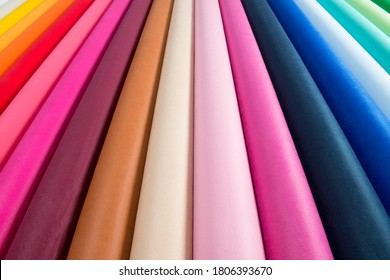 Non woven fabric rolls background