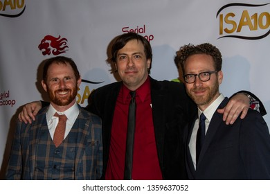 """""""No-Name Cinema Society"""" arrives at the 10th Annual Indie Series Awards at The Colony Theatre in Burbank, CA on April 3, 2019."""