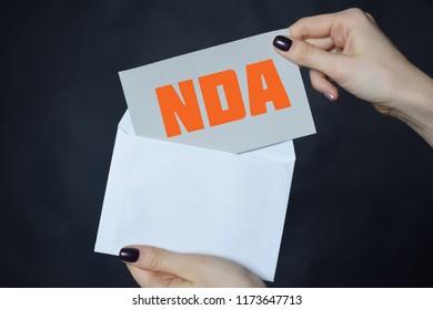 Non-Disclosure Agreement, NDA