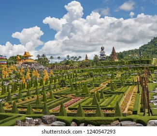 nong nooch panorama, the spirit house and temples