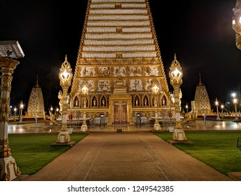 NONGBUA SPIRES BUILT IN 1956 IN IMMITAT ON OF INDIA'S BUDDHA KHAYA SPIRES,  THE NONGBUA SPIRES SERVEAS ONE OF THAILAND'S SACRED PLACES. Ubon Ratchathani -