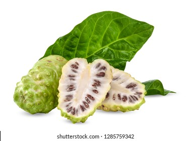 Noni isolated on white background with clipping path