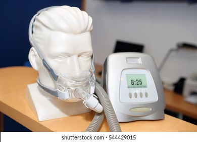 Non-invasive ventilatory support, CPAP (continuous positive airway pressure support), for disease sleep apnea
