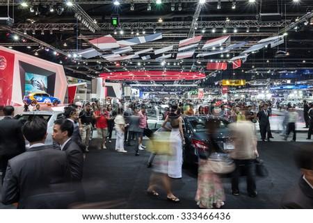 NONTABURI THAILAND 2 DEC Atmosphere Car Stock Photo (Edit Now