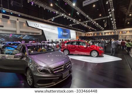NONTABURI THAILAND 2 DEC Mercedes Benz On Stock Photo (Edit Now