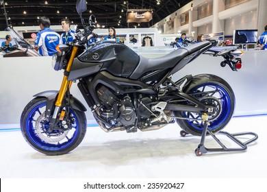 NONTHABURI DECEMBER 4 YAMAHA SR Motorcycle Stock Photo (Edit