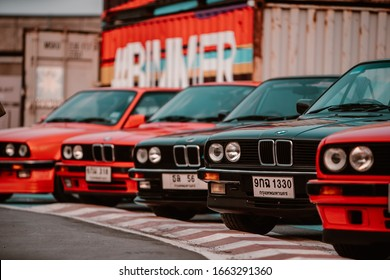 Nonthaburi, 22 Feb 2020 Bimmermeet 4 : Tribute To BMW Art Cars. There are many BMW, from old cars to new sports cars. Collect cars and car owners who have a preference for BMW. Shots by Vapixs