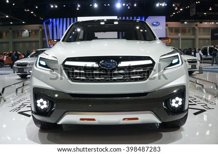 Nonthaburi March 23 Subaru Viziv Future Stock Photo Edit Now