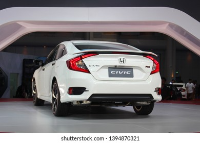 Nonthaburi Province, Thailand - March 24, 2016: Thailand International Motor Show 2016, Honda Civic