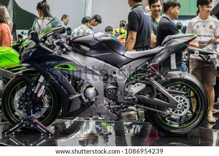 Nonthaburi Thailand April 7 2018 Kawasaki Stock Photo Edit Now