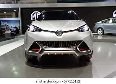 NONTHABURI, THAILAND - DECEMBER 8: The CS MG Concept car is on display at the 32nd Thailand International Motor Expo 2015 on December 8, 2015 in Nonthaburi, Thailand.