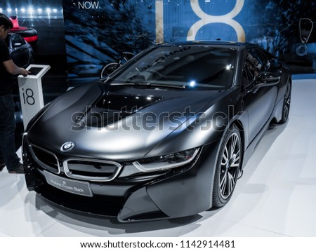Nonthaburi Thailand March 2018 Bmw I 8 Stock Photo Edit Now