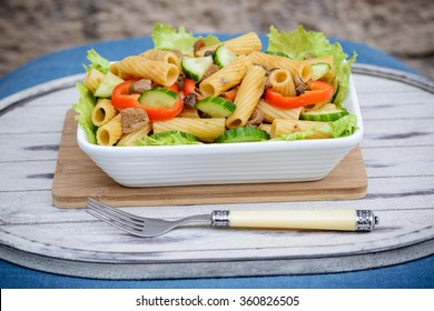 noodle salad with veggies