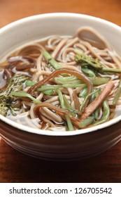 Noodle Soup in bowl