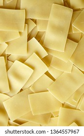 Noodles background. Ingredient for cooking beshbarmak