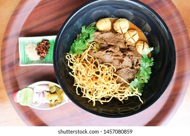 noodles or beef noodles , curry noodles