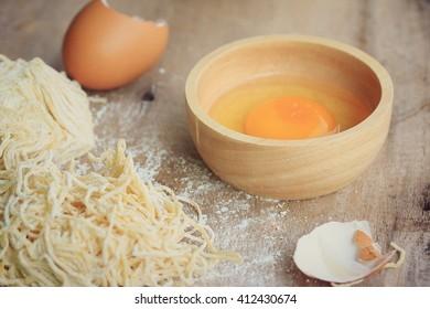 noodles egg