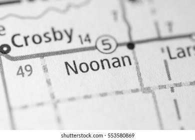 Noonan. North Dakota. USA