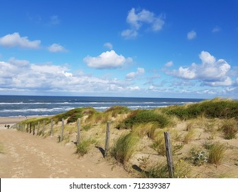 Noordwijk duinen, strand en zee