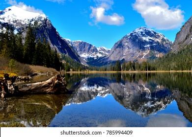 Nooya Lake in Misty Fjords National Monument