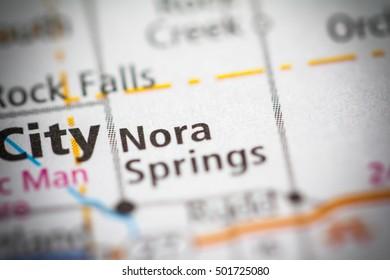 Nora Springs. Iowa. USA.