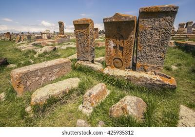 Noratus cemetery, Armenia