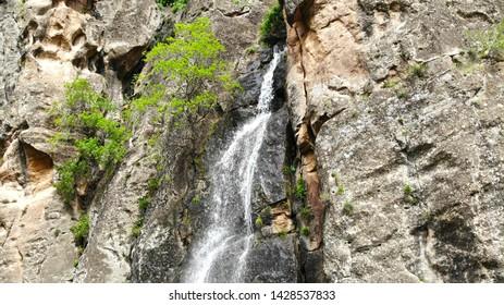 Noravank (Gnishik) gorge & small waterfall, Armenia