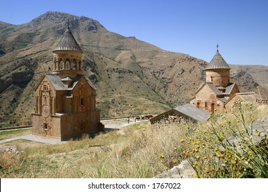 Noravank monastery (Armenia).