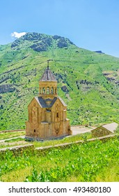 The Noravank Monastery is one of the most popular landmarks, located in Amaghu canyon of Vayots Dzor Province, Armenia.