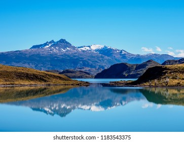 Nordenskjold Lake, Torres del Paine National Park, Patagonia, Chile