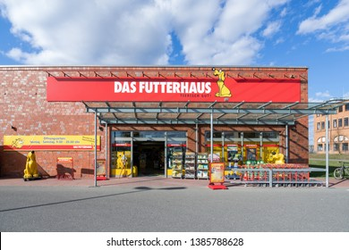 NORDERSTEDT, GERMANY - APRIL 10, 2019: Das Futterhaus store. Das Futterhaus is one of Germany's largest pet supply retailer with more than 300 locations nationwide.