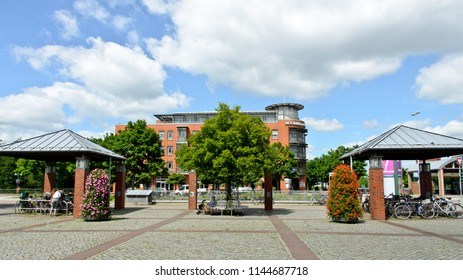 Norderstedt, Germany - June 17, 2017: German pension insurance information and counseling center