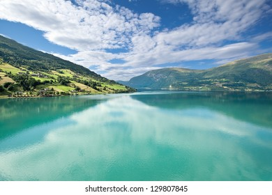 Nordfjord near Olden, Norway - Scandinavia