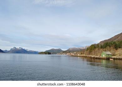 NordFjord, NordFjorden, Norway scenic landscapes