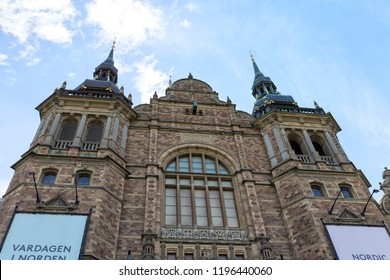 Nordic Museum (Nordiska museet), Stockholm, Sweden - 22 Jun 2018: It is dedicated to the cultural history and ethnography of Sweden.