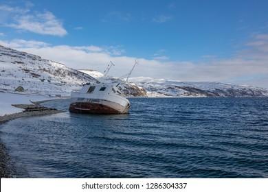 Nordkapp boat in Norway