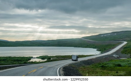 in the nordkapp road