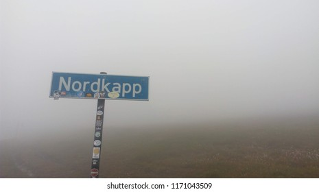 Nordkapp sign - Norway