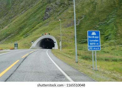 Nordkapp tunnel,  Finnmark, Norway