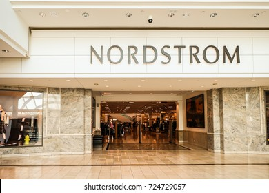 Nordstrom at King of Prussia, PA, USA. September 24, 2017.