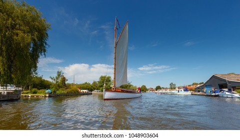 Norfolk Broads Boat